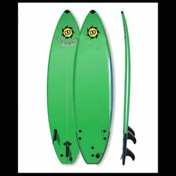 Element Shortboard Closeout 2nd Generation Soft Surfboards - 5ft 6in, Green - Surfboard