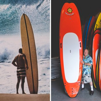 Greg Noll & His LS SUP