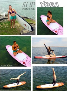 LS SUPS Paddleboard YOGA