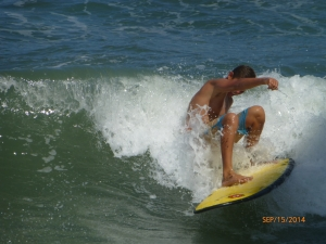 Beater SurfBoard style Ghost by Liquid Shredder