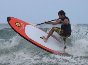 Paddleboard Surfing`