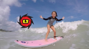 Kids Just Wann Have FUN...on Liquid Shredder Surfboards